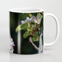 Pollinating Bee visiting the flowers Coffee Mug