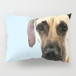 Great Dane Art - I Didn't Do It Pillow Sham