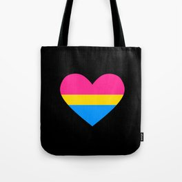 pan heart Tote Bag