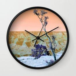 Little Tree on the Canyon V3 - New Hue Wall Clock