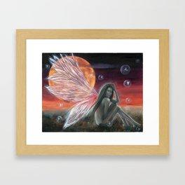 Fairy Bubbles Framed Art Print