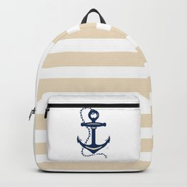 AFE Sapphire  Blue Anchor Backpack
