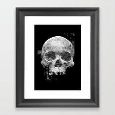 Favela'Skull Framed Art Print