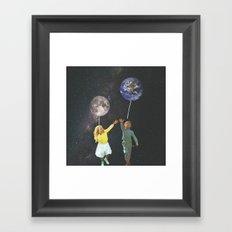 Too Soon Framed Art Print