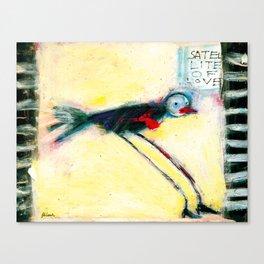SATELLITE OF LOVE Canvas Print
