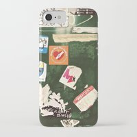 stickers iPhone & iPod Cases featuring stickers by kazmcart