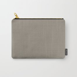 Sherwin Williams Trending Colors of 2019 Felted Wool (Gray Taupe) SW 9171 Solid Color Carry-All Pouch