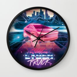 Cybertruck - Maximum Outrun Wall Clock
