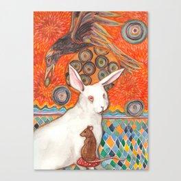 Mosaic Melody Canvas Print