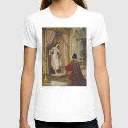 A King And A Beggar Maid - Edmund Blair Leighton T-shirt