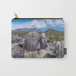 Three Rivers Petroglyphs in New Mexico Carry-All Pouch