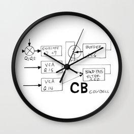 Roland 808 Cowbell Wall Clock