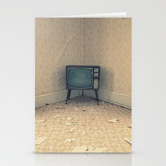 Television Set Stationery Cards