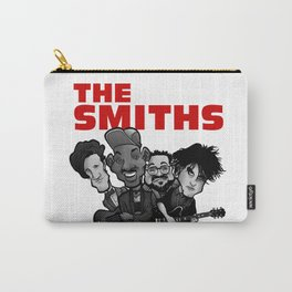 The Smiths (white version) Carry-All Pouch