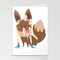 sylveon Stationery Cards featuring Sylveon by Dani Tea
