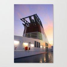 Sitting Starboard Canvas Print