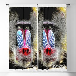 Primate Models: Mandrill Baboons 01-02 Blackout Curtain