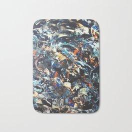 Black Water Bath Mat