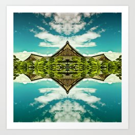 From the world Art Print