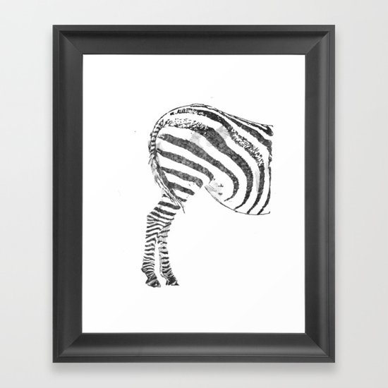 More Ass Than Horse Framed Art Print