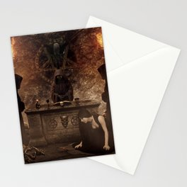 The Lord of Death Stationery Cards