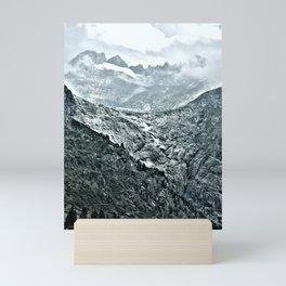 Rhone Glacier Mini Art Print
