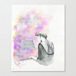 The Unwritten Song Canvas Print