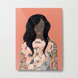 Self Love. Empower art Metal Print