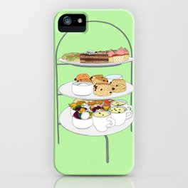 English Afternoon Tea Cakes iPhone Case