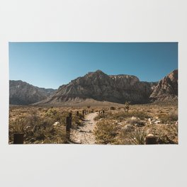 Path to Red Rock Canyon Rug