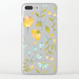Botanical Clear iPhone Case