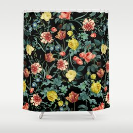 NIGHT FOREST XV Shower Curtain