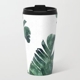 Banana Leaf Watercolor #society6 #buy #decor Travel Mug