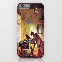 Papal Customs Audit - Carl Spitzweg iPhone Case