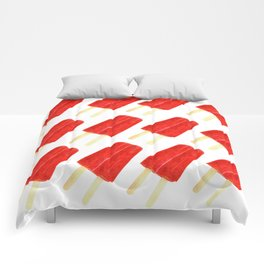 Red Popsicles Comforters