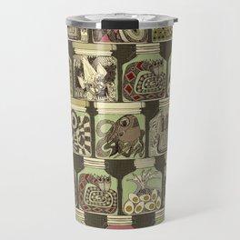 weird pickles vintage Travel Mug