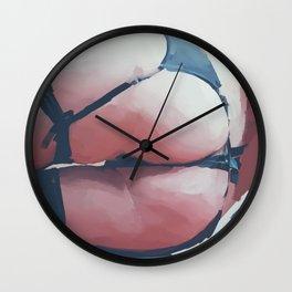 Tushie 6 Wall Clock
