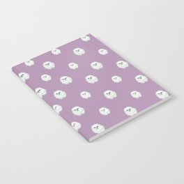 Pom Pup Polka Dot Notebook