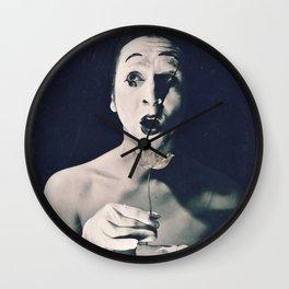 Portrait of Surprise (c) Joel Stephen Birnie Wall Clock