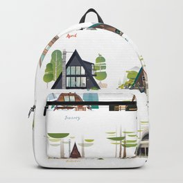 Cabins Diaries Backpack