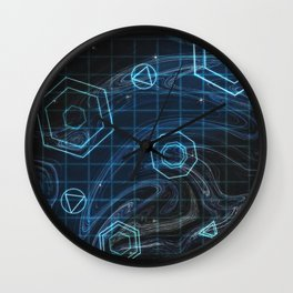 Young and Menace Wall Clock