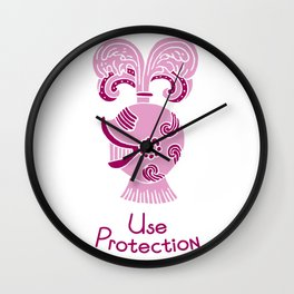 Use Protection Wall Clock
