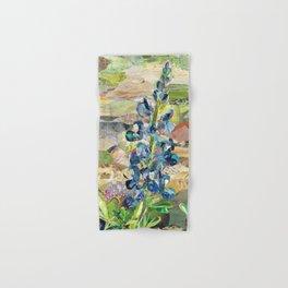 Texas Bluebonnet Collage Hand & Bath Towel