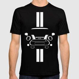 Mini Cooper T Shirt (Black/White stripes) T-shirt
