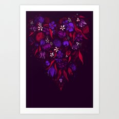 Still Bleeding Heart Art Print