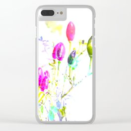 funny like m & m's Clear iPhone Case