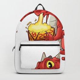 Tabletop Gaming Gift Print Dragon Dice RPG Dragons D20 Tee T-Shirt Backpack