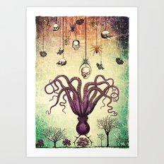 The Perfumed Garden Art Print