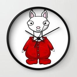 Llama Llama Red Pajama Wall Clock