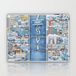 Winter in Kyiv Laptop & iPad Skin